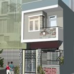 Mẫu nhà 1 tầng 1 tum