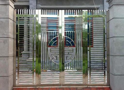 cổng nhà phố đẹp