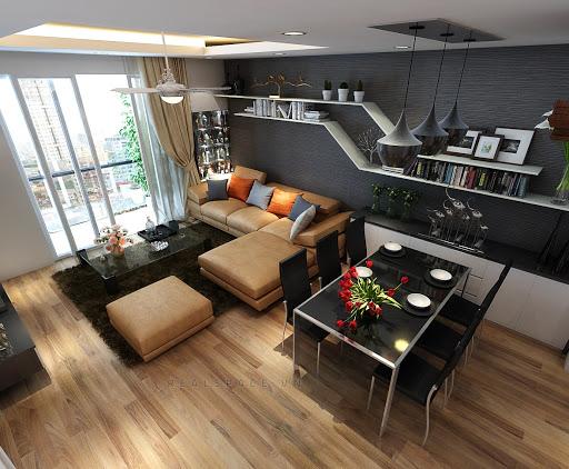 công ty thiết kế nội thất chung cư tại Sài Gòn