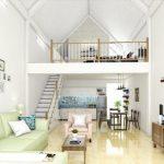 Đơn vị thiết kế nhà có tầng lửng đẹp – Kiến Trúc Thành Đạt SSG