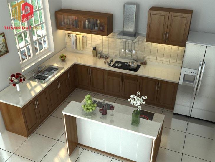 Cách chọn vị trí thiết kế bếp trong phong thủy nhà chung cư