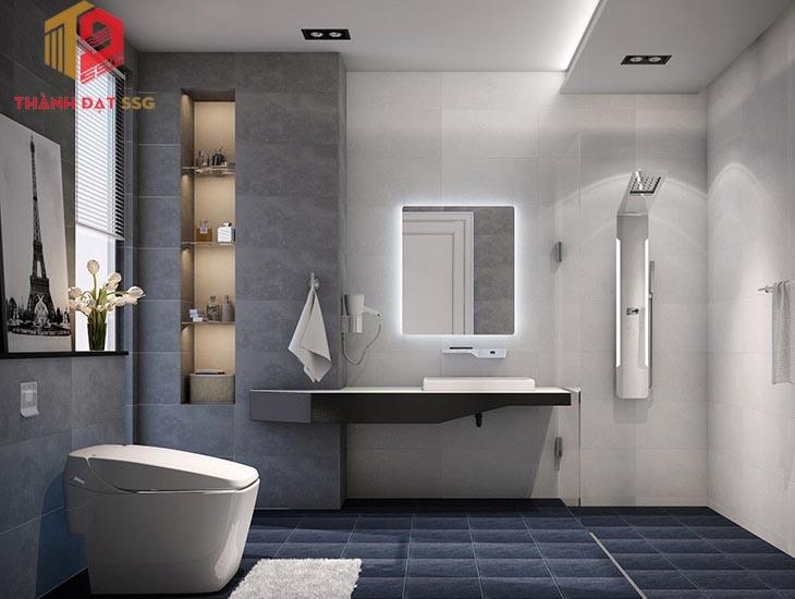 Thiết kế vị trí nhà vệ sinh hợp phong thuỷ nhà chung cư