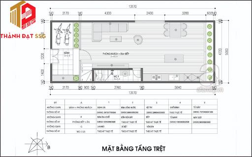 bản vẽ thiết kế nhà theo phong thủy