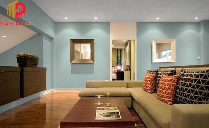 Chọn màu sơn nhà theo phong thủy cho vợ chồng