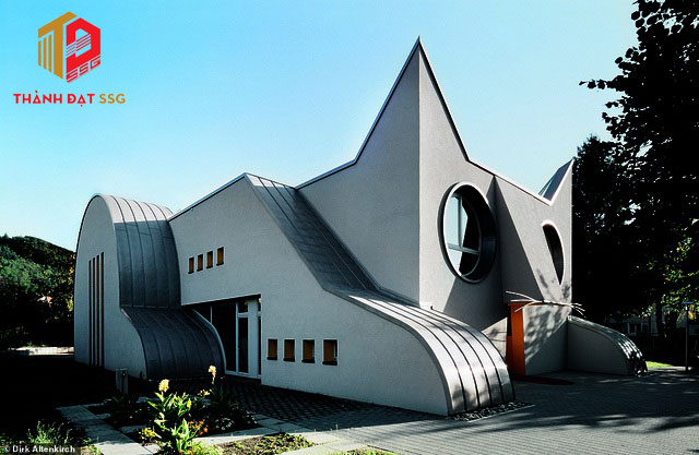phong cách kiến trúc