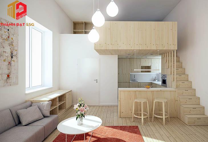 Các mẫu thiết kế nhà đẹp cho diện tích dưới 20m2