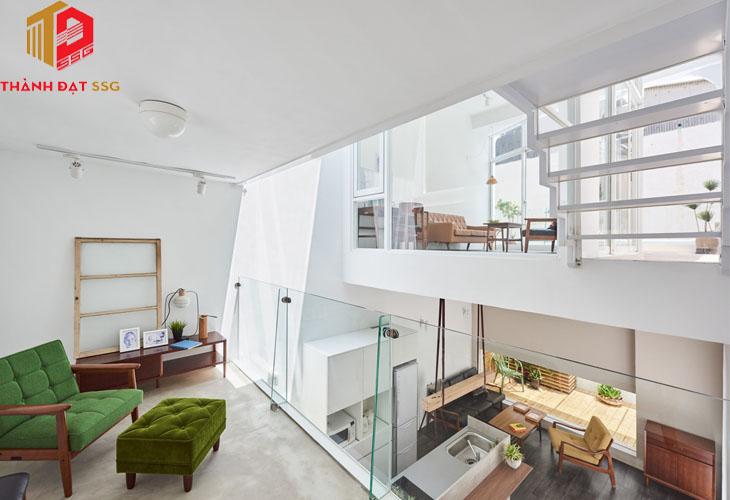 Các mẫu thiết kế nhà đẹp cho diện tích dưới 50m2