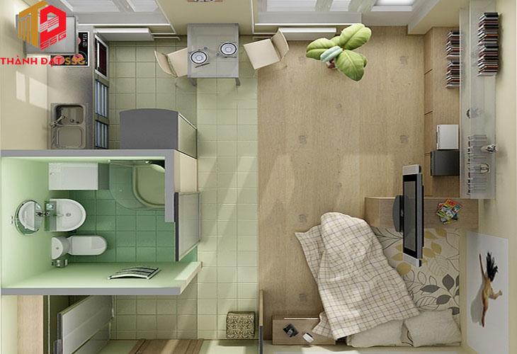 Các mẫu thiết kế nhà đẹp cho diện tích dưới 30m2