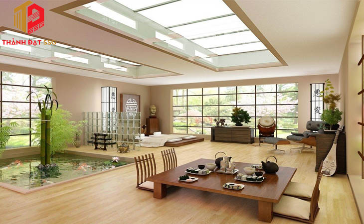 Thiết kế không gian kiến trúc xanh