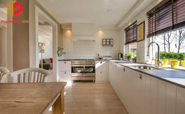 Thiết kế nhà bếp nội thất Nhật Bản hiện đại