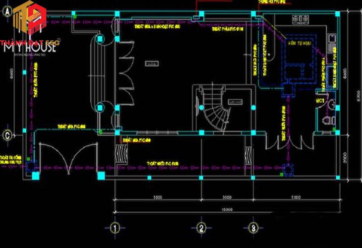 Thiết kế nhà phố 6x17m