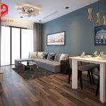 Những mẫu thiết kế nội thất nhà chung cư 70m2 2 phòng ngủ dễ ứng dụng