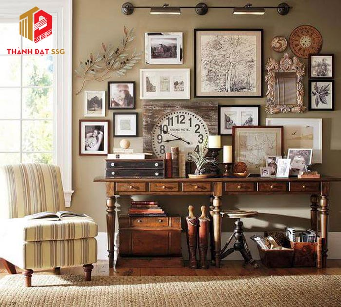 nội thất vintage