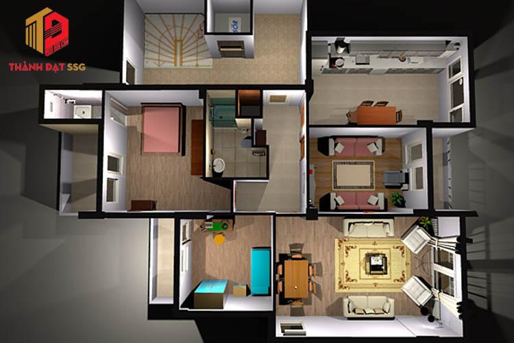 Phần mềm thiết kế nhà 3d Sweet Home