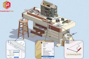 Phần mềm thiết kế nhà 3D trên Sketchup