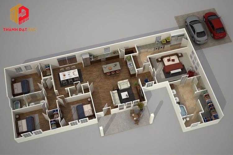 Phần mềm tạo mô hình Super Home Suite