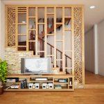 Mẫu thiết kế vách ngăn cầu thang ngăn cầu thang đẹp, hiện đại phù hợp với mọi không gian