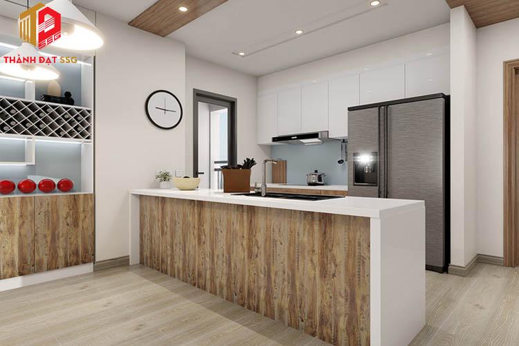Sử dụng nội thất gỗ thiên nhiên
